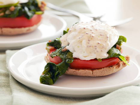 Kale and Tomato Eggs Benedict | Kind and Healthy Living | Scoop.it
