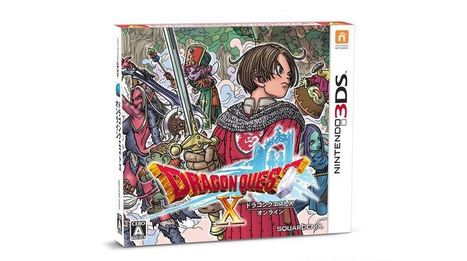 3DS gets its first MMO in the form of Dragon Quest X | Games | Geek.com | Video Game News | Scoop.it