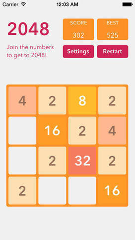 ik/2048: The iOS version of 2048, made using SpriteKit | iPhone and iPad development | Scoop.it