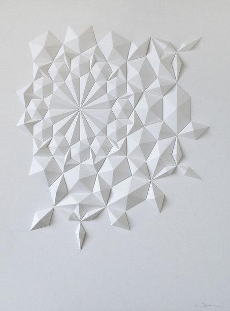 Matt Shlian: The Unconventional Artist and Paper Engineer Talks to Yatzer | Yatzer | Paper Art | Scoop.it