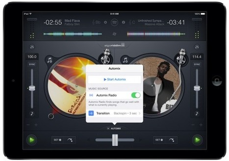 Review & Video: Algoriddim's djay 2.5 With Spotify For iPad | DJing | Scoop.it