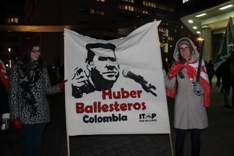 Le dirigeant syndical colombien Huber Ballesteros se voit décerner le Human Rights Award   Quinoa asbl   éducation au développement   Scoop.it