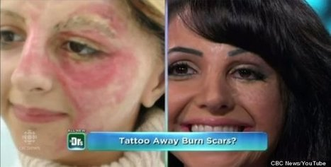 Woman Tattoos Her Own Face To Cover Scars, Starts Business To Help Other ... - Huffington Post | Tattoos & Body Art | Scoop.it