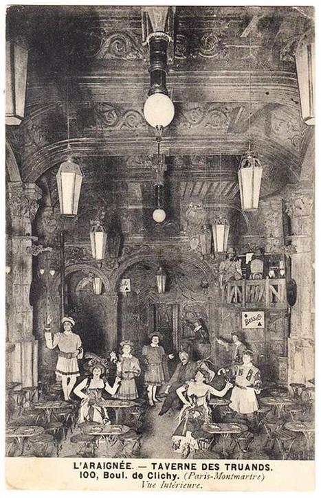 Les tavernes très étranges du Paris 1900   Cultures de l'Imaginaire   Scoop.it