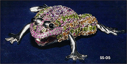 Sterling Silver Frog   Indian shaily crafts   Scoop.it
