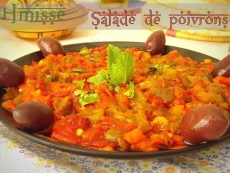 recette Hmisse, hmiss, salade mechouia | Recette Ramadan | Scoop.it