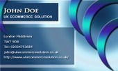 Business card template Jewel | Cheap Business Cards | UK Ecommerce Software Solutions | Online Shopping cart | Scoop.it