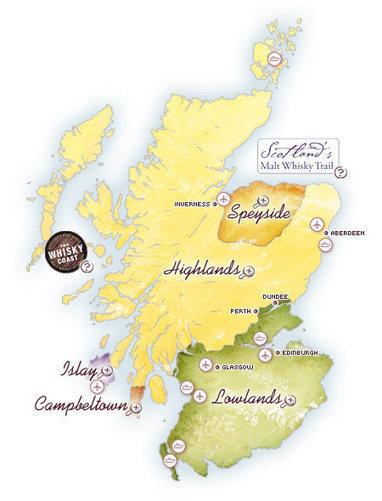 Map of Scotch Whisky distilleries, single malt, whiskies, whiskey, distillery visits, distillery tours, scotland, whisky tours   Alcoholic beverages KM   Scoop.it