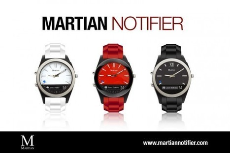 Martian Watches New Line of Smartwatches Make Life on Earth a Little Easier - The LA Fashion magazine | Best of the Los Angeles Fashion | Scoop.it