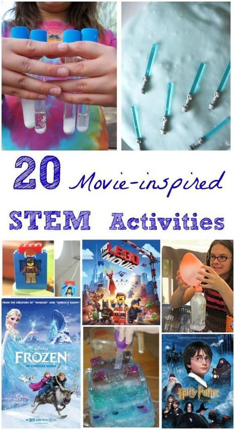 20 STEM Activities Inspired by Kids Movies | Ict4champions | Scoop.it