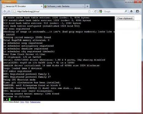 Ejecuta Linux en tu navegador con un emulador escrito en Javascript - Genbeta | Programacion | Scoop.it