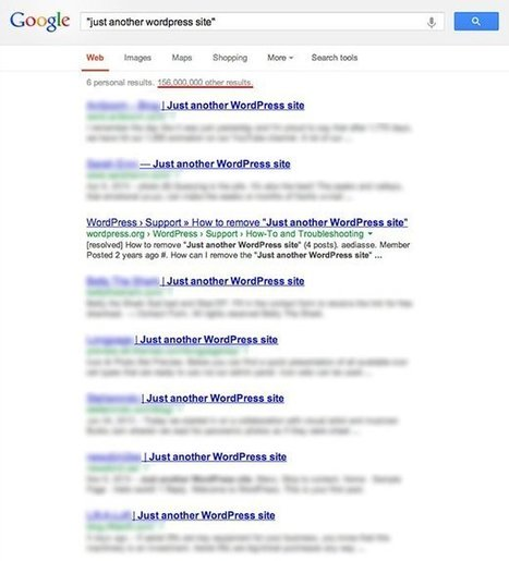 Self-Hosted WordPress Websites: A Few SEO Do's and Don'ts | PBS | Scoop.it