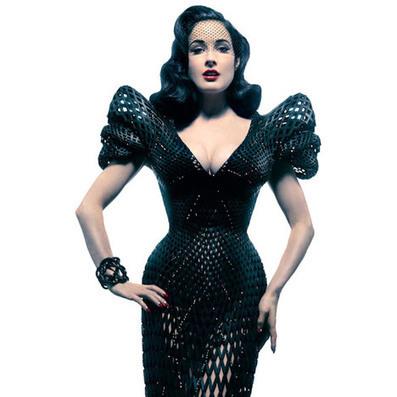 3D-printed dress for Dita Von Teese | innovation, brand communication, creativity | Scoop.it