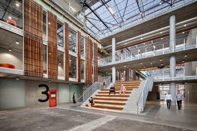 """MPH Architects transforms """"magnificent"""" former car factory into education centre 