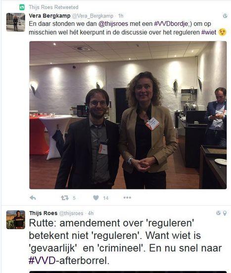 De VVD heeft gestemd voor de regulering van wietteelt. Mark Rutte vindt van niet | Drugsbeleid | Scoop.it