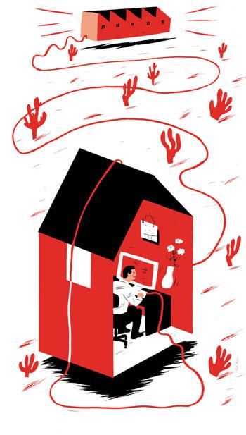 Teleworking: Home sweet ... office - The Japan Times | Crazy Sis Biz Scoop | Scoop.it