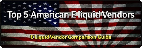 Crystal Canyon Vapes Eliquid: CCVapes makes top 5 American Eliquid Vendors! | Crystal Canyon Vapes | Scoop.it