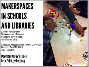 Missouri Assn of School Librarians: Makerspaces Talk | Learning Commons & Maker Spaces | Scoop.it