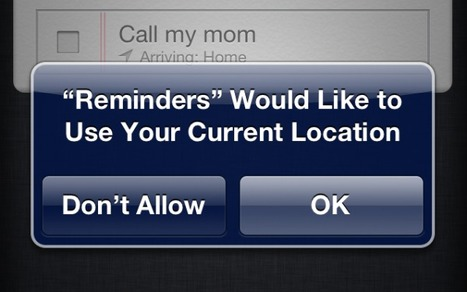 How to Create Location-Based Reminders on Your iPhone | Mashable | How to Use an iPhone Well | Scoop.it