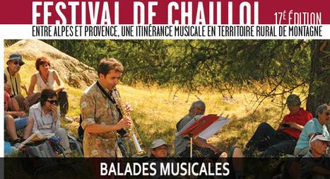 Les balades musicales du Festival de Chaillol | Ca bouge dans le 05 ! | Scoop.it
