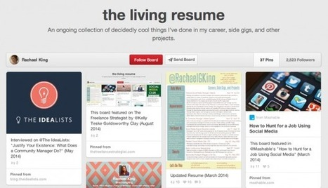 7 Social Media Résumé Concepts That Will Make You Rethink Yours | Mind Your Business! | Scoop.it