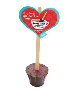 """Target Hot Chocolate Stirrers  Call it a multi-tasking lollipop: Plunge one of these cuties into a mug of warm milk, stir, and voilà—""""instant"""" hot chocolate. Choose from six flavors, including moch... 