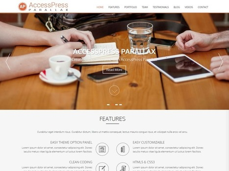 AccessPress Themes is an online WordPress themes store, that provides beautiful and useful themes. All of our themes are crafted with our years of experience. Our theme don't lack the basics and do... | Création, maintenance et animation de site et de blog | Scoop.it