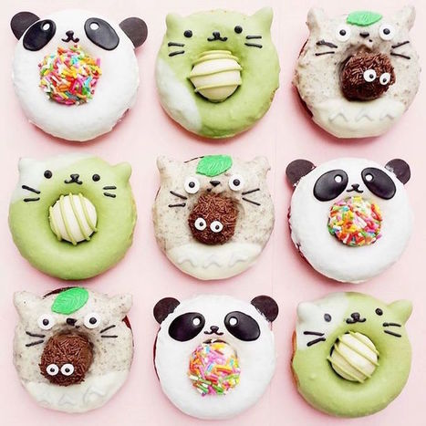 Delectable Doughnuts That Are Almost Too Cute to Eat… Almost | Le It e Amo ✪ | Scoop.it