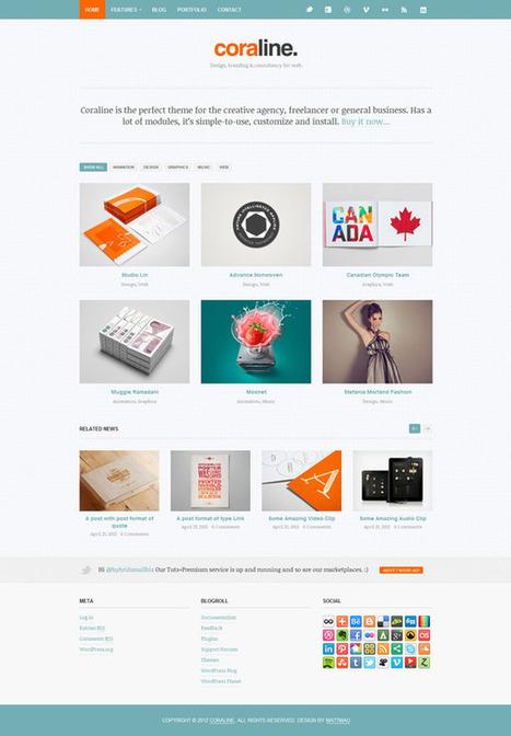 Meilleurs thèmes Wordpress Juin 2012 | Lectures web | Scoop.it
