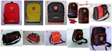 Tas Bola Arsenal - Kaos Distro Bola | Jual Kaos dan Tas Bola Online Original | Kaos Distro Bola | Scoop.it