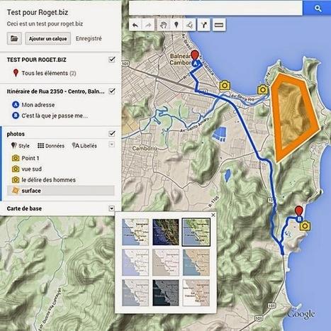 MyMap, le nouveau Google Map : encore plus d'outils pour la cartographie en classe | Enseigner l'Histoire-Géographie | Scoop.it