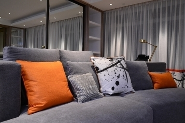 Hotel Lanson Place à Hong Kong avec les tissus Pierre Frey | Hôtellerie de luxe | Scoop.it