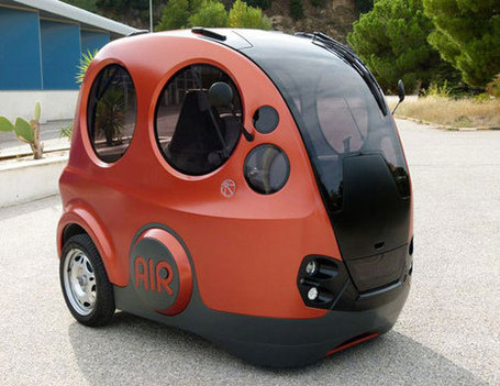 This Tiny Pod Car Runs On Air | Strange days indeed... | Scoop.it