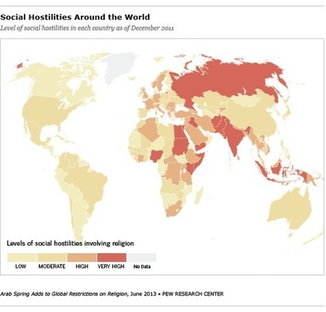 Arab Spring Adds to Global Restrictions on Religion - Pew Forum on Religion & Public Life | PR sold the world | Scoop.it