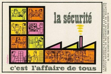 Sécurité au travail : 60 ans d'affiches | santé au travail | Scoop.it