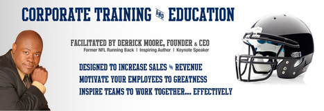 Derrick Moore – Former NFL Player | Author | Keynote Speaker | Developing Champions Every Day | Derrick and Stephanie Perry Moore | Scoop.it