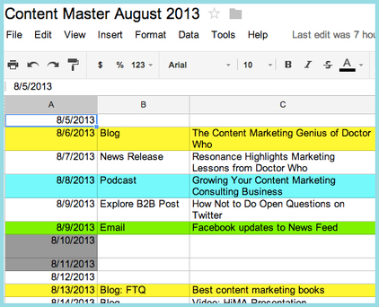 CONTENT CREATION - Tutorial: How to Organize Your Content   Punch! Social Media Marketing   Scoop.it