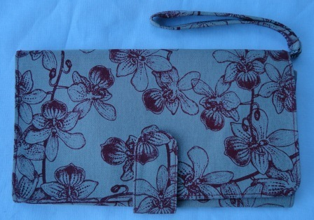 Floral Clutch, ethically handmade by disadvantaged producers group,   Handmade Cambodia   Scoop.it