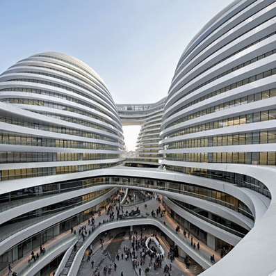 Movie: Galaxy Soho by Zaha Hadid Architects | Architecture and Architectural Jobs | Scoop.it