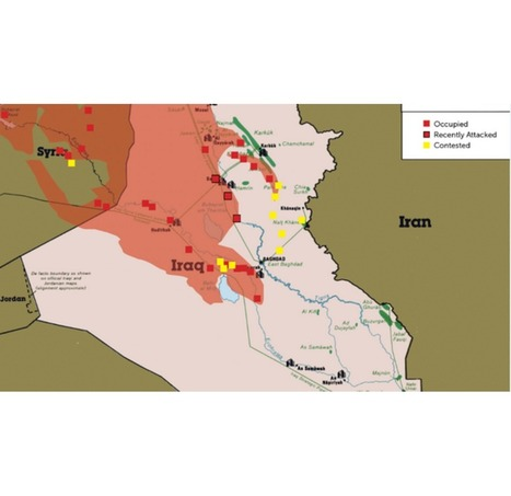 This map shows how violence in Iraq could threaten the oil supply | AP Human Geography | Scoop.it