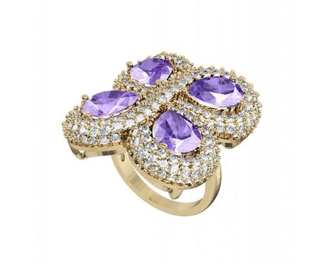 Enchanting Tanzanite & diamond Cocktail Ring | Diamond Solitaire Ring | Scoop.it