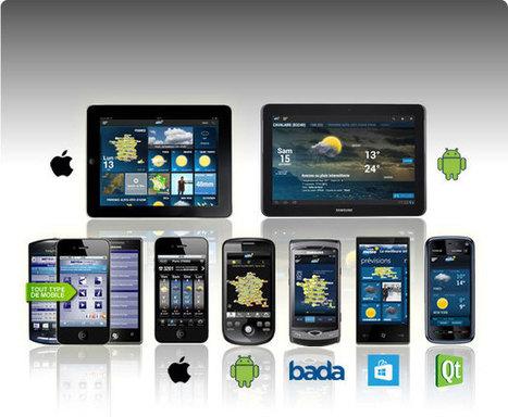 Applications Météo Mobiles et Tablettes : Les dernières prévisions météo sur votre Mobile ou votre tablette avec La Chaîne Météo   android new news   Scoop.it