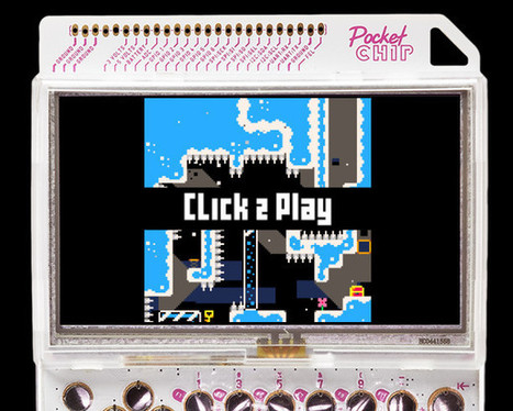 PocketCHIP Hackable & Portable Linux Game Console Can Be Pre-ordered for $49 | Embedded Systems News | Scoop.it