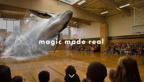 Secretive Augmented Reality Startup Magic Leap Raising $827 Million - i want to believe that magic can be made real but...? | 4D Pipeline - trends & breaking news in Visualization, Mobile, 3D, AR, VR, and CAD. | Scoop.it