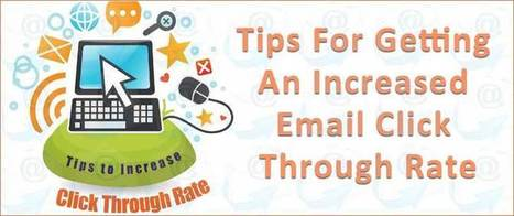 Tips For Getting An Increased Email Click Through Rate | AlphaSandesh Email Marketing Blog | best email marketing Tips | Scoop.it