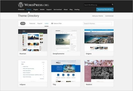 WordPress Theme Directory Finally Redesigned   Trailing WordPress   Scoop.it