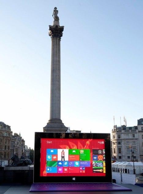 Une tablette géante investit le centre de Londres ! Marketing Stories | Marques & Innovation marketing | Scoop.it
