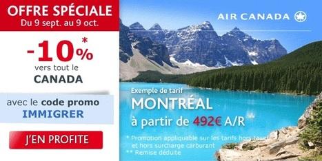 -10% avec Air Canada !   Voyager malin !   Scoop.it
