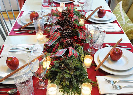 Simple Holiday Tabletops | Garden Club | Natural Soil Nutrients | Scoop.it