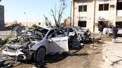 At least 65 killed in bomb attack on Libya police training center   The Pulp Ark Gazette   Scoop.it